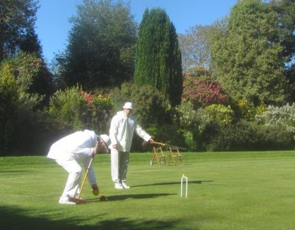 Croquet North - York Croquet Club vs Belsay Hall